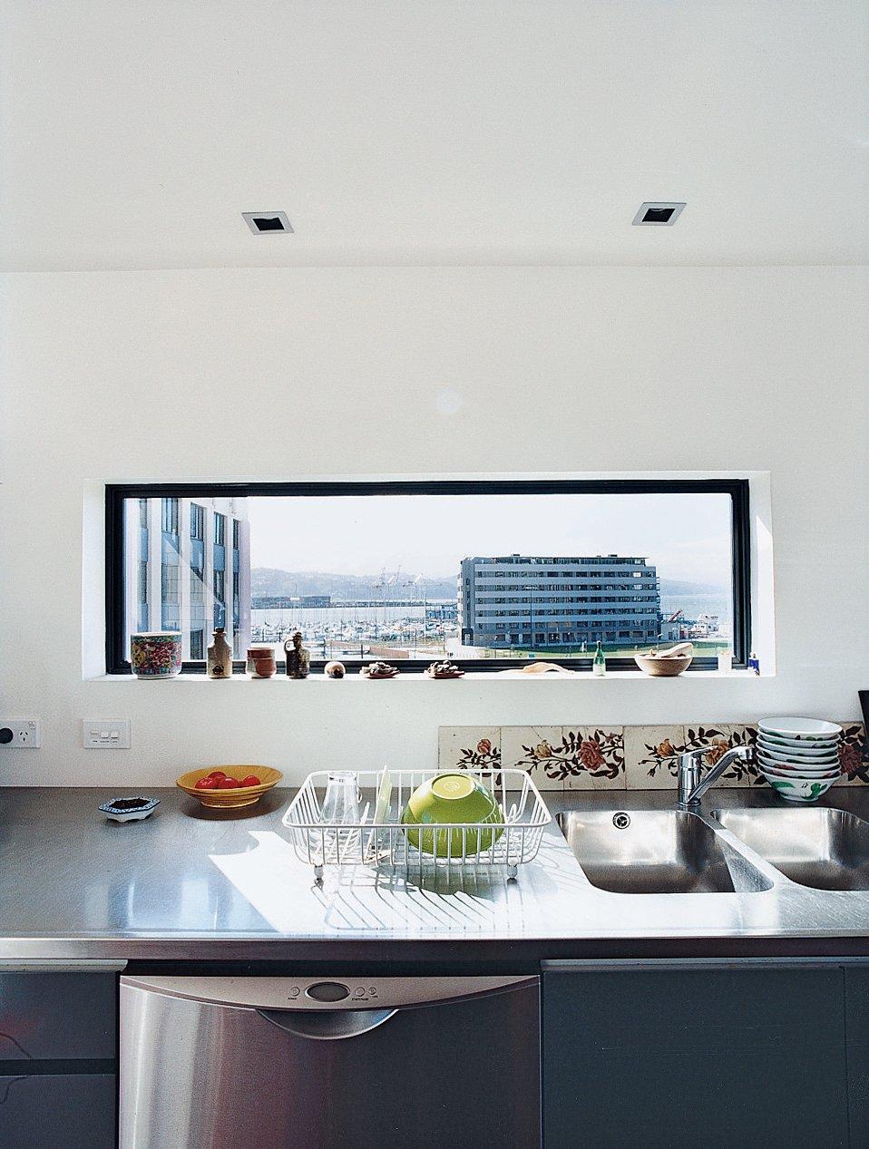 Photo 2 Of 10 In Rising Above It All Kitchen Interior Diy Window Over Sink Modern Interior
