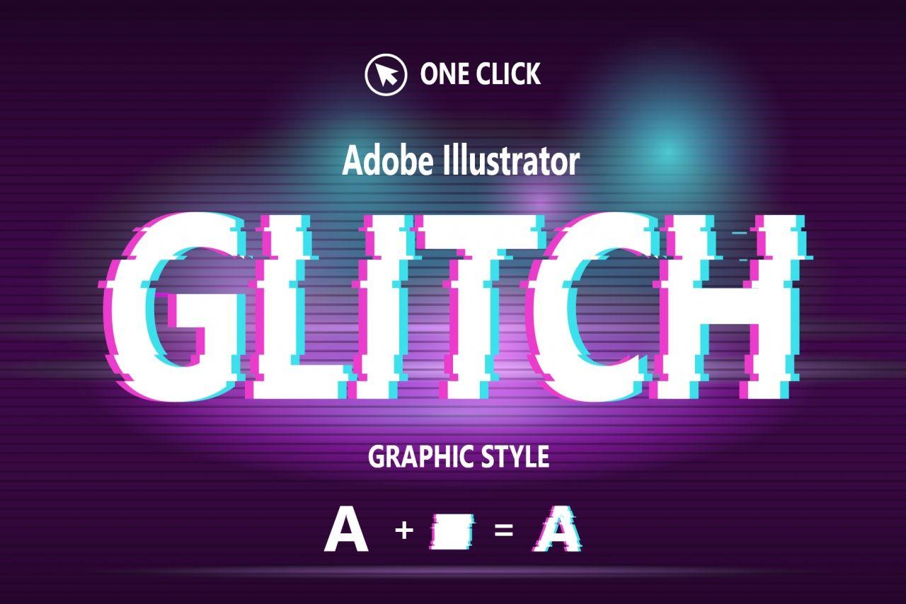 Glitch Graphic Style Create Text Text Design Glitch Text