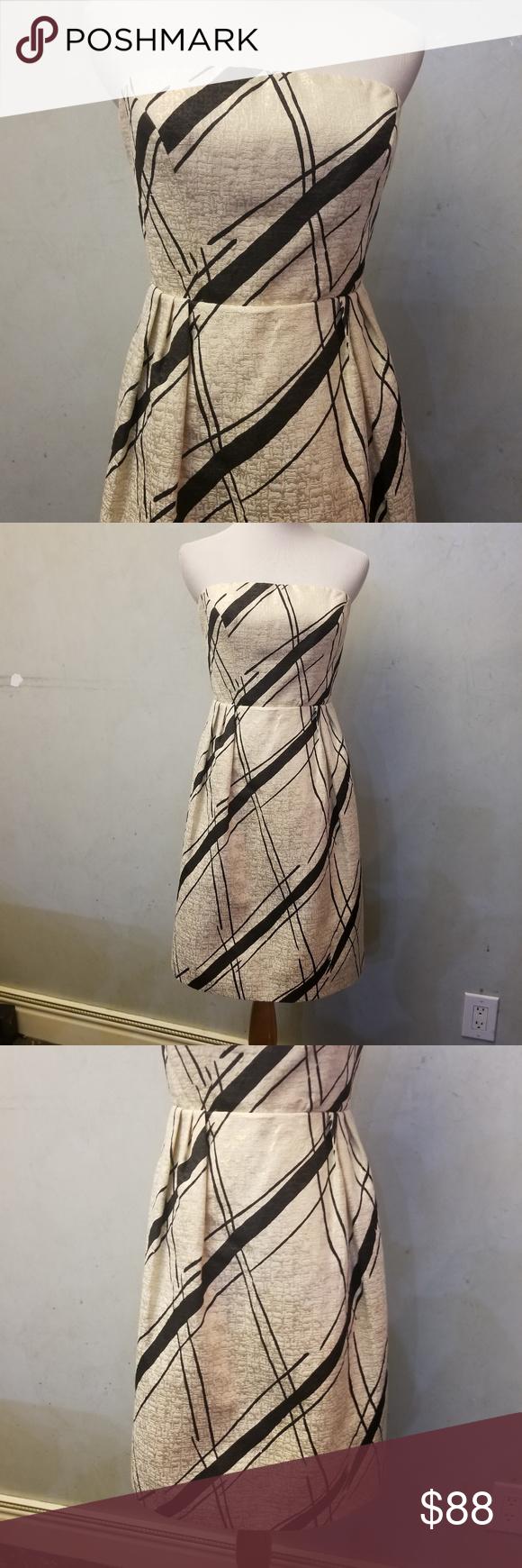Anthropolagie metallic detailed dress h in my posh picks