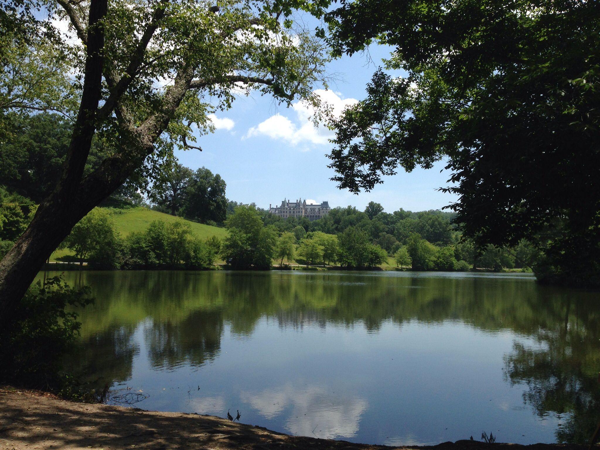 pond on biltmore estate asheville nc around asheville