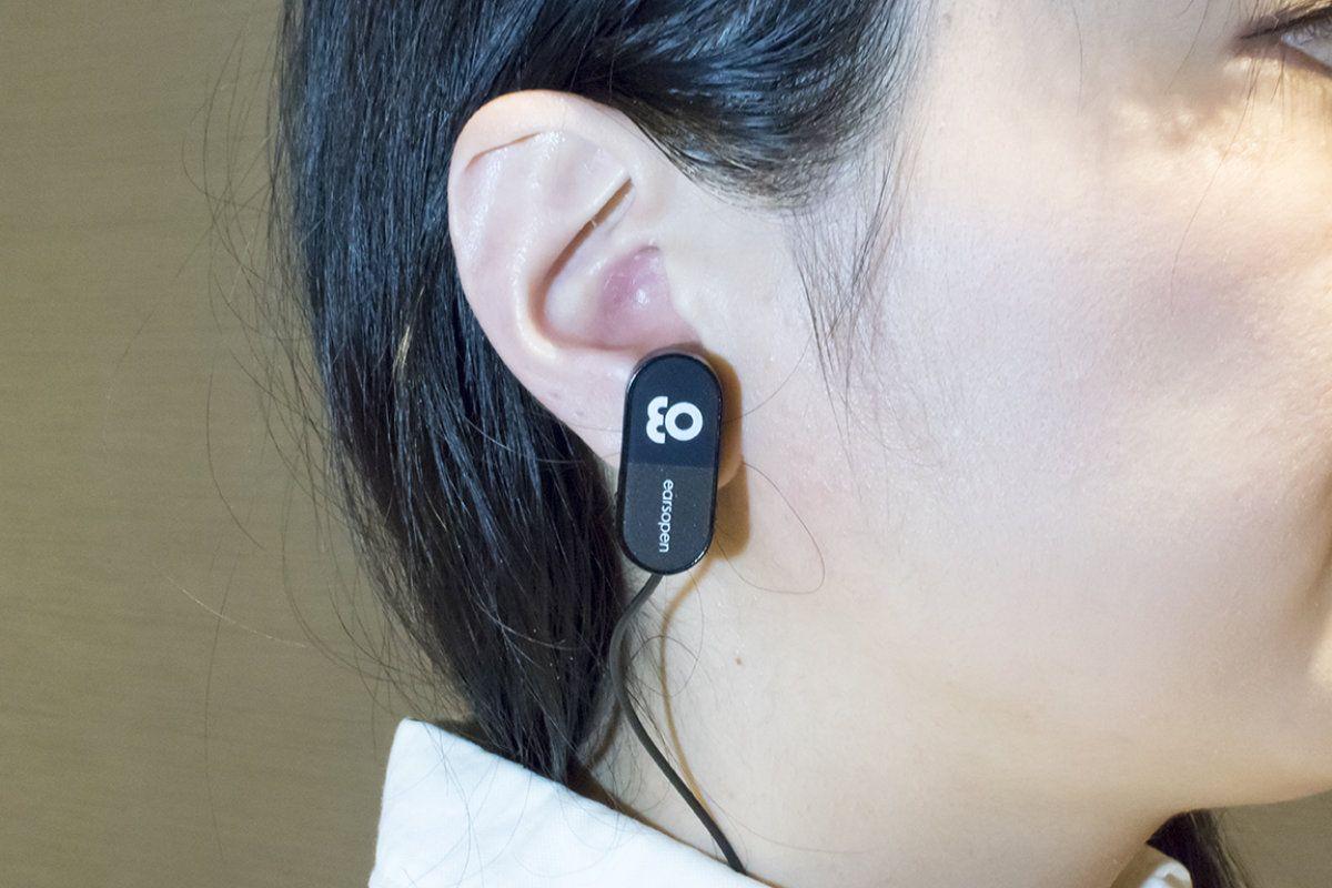 ハイレゾ級うたう骨伝導イヤホン「EarsOpen」の実力と開発背景に迫る