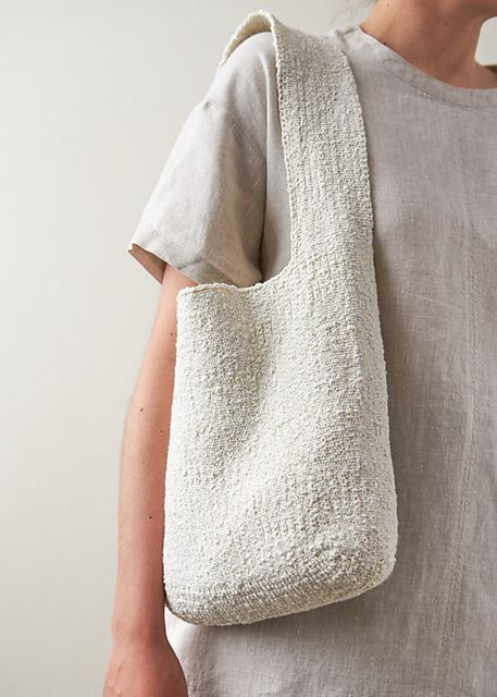 Photo of Simple Knit Tote pattern by Purl Soho