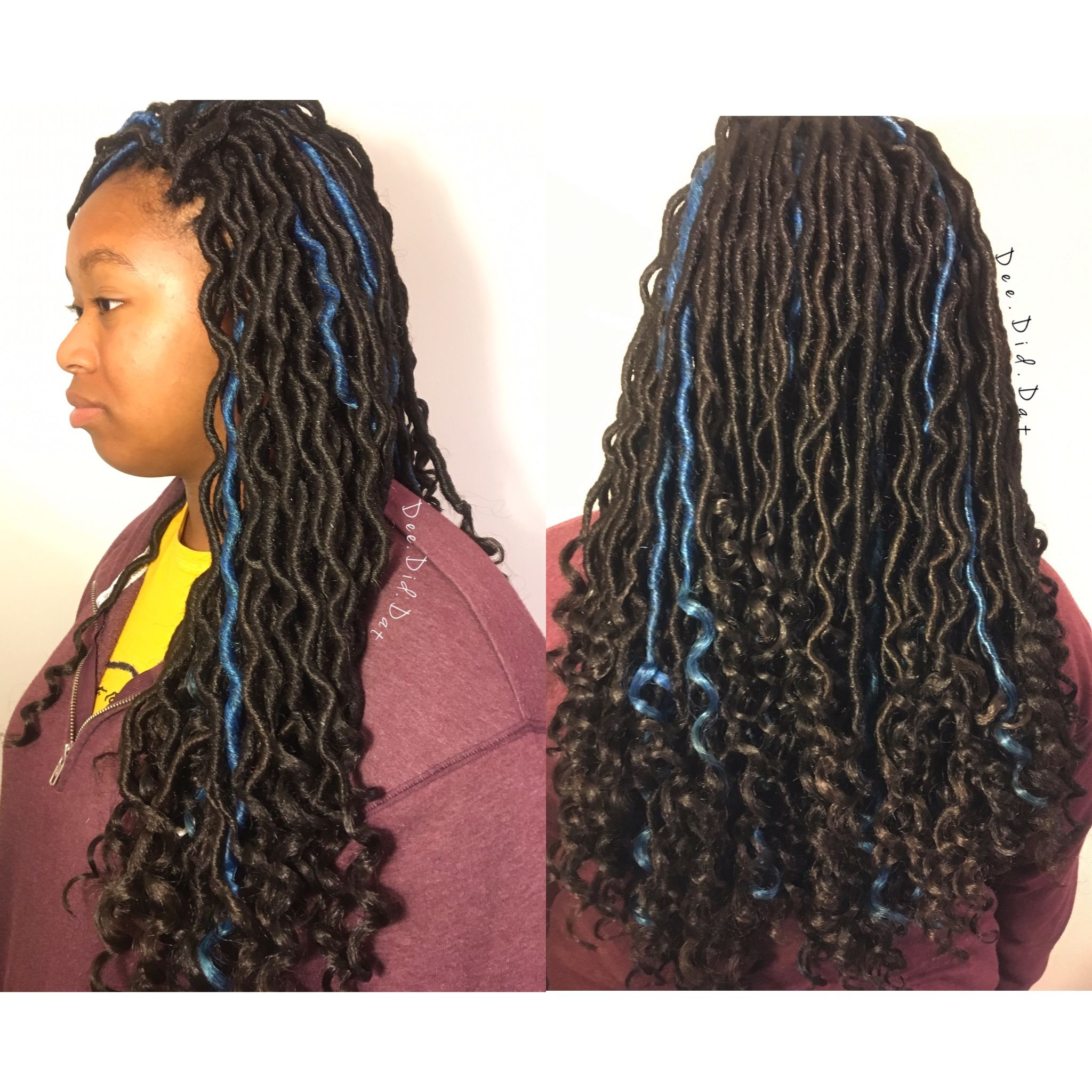crochet goddess locs Protective styles by dee did dat on