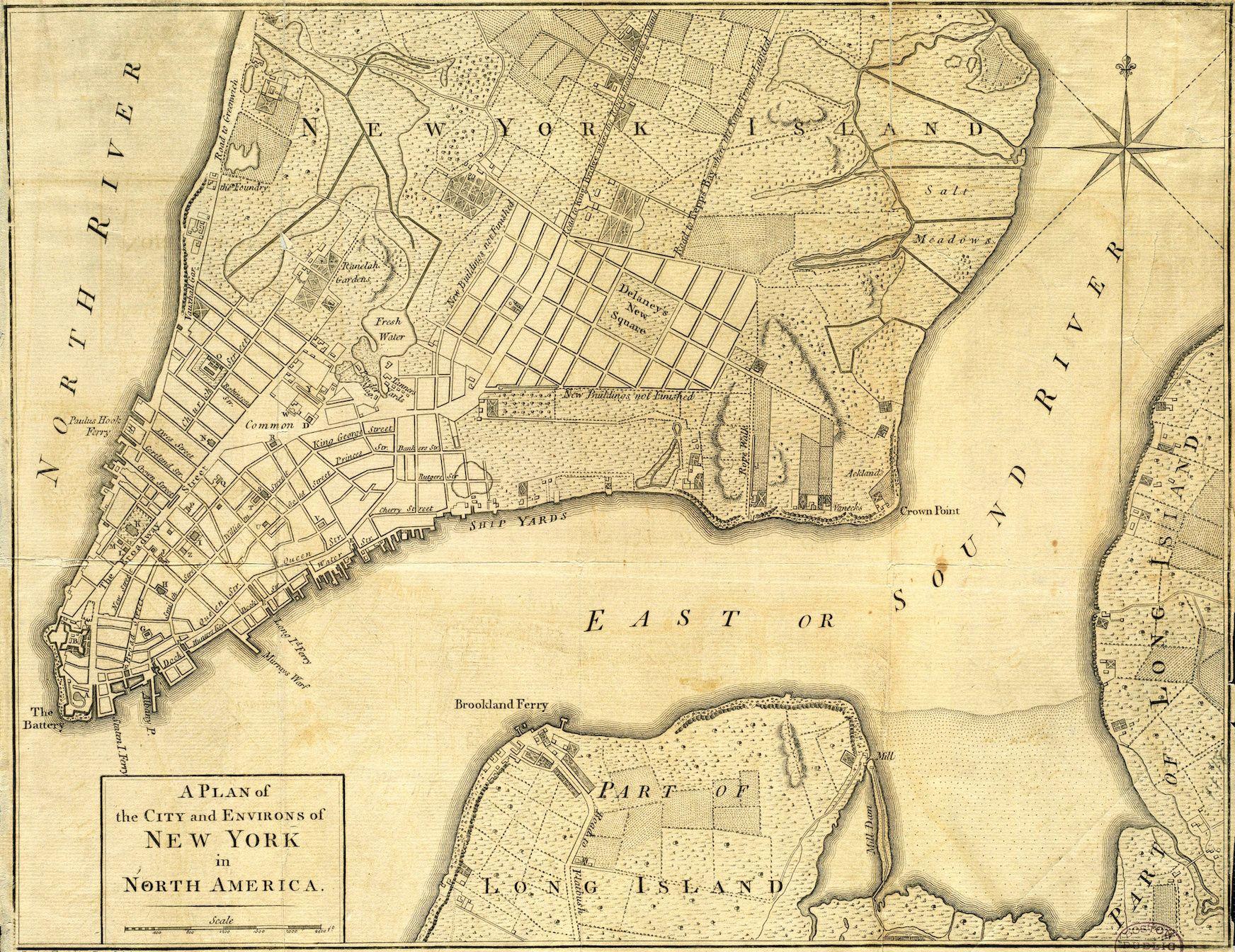 Revolutionary War Archives The Bowery Boys New York City History