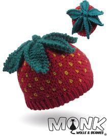 Mütze Häkeln Häkelanleitung Erdbeermütze Häkeln Mütze Häkeln