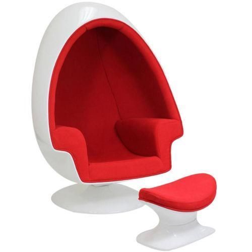 Ikea Red Hanging Egg Chair Egg Chair Cool Chairs Futuristic