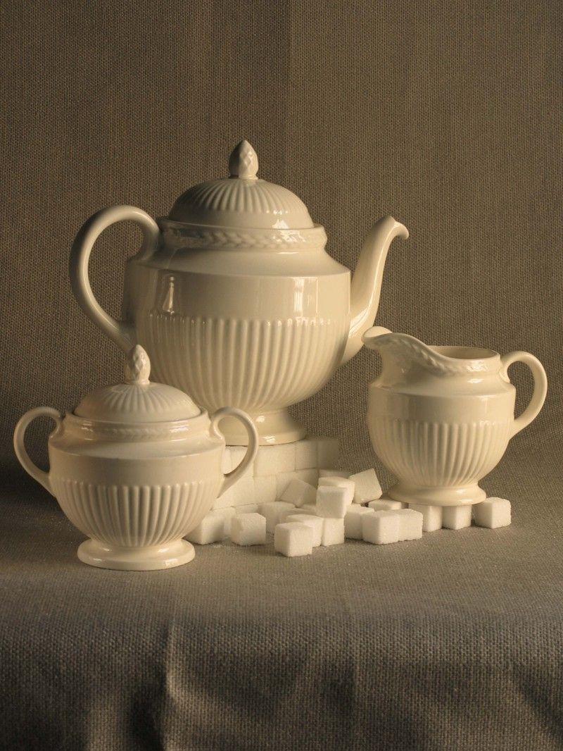 Teacup & Wedgwood Tea Set - Edme pattern ~ very close to Wedgewood Windsor ...