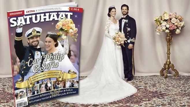 NEWS TRENDS Satuhäät-lehdessä kaikki Carl Philipin ja Sofian häistä! - Kuninkaalliset - Ilta-Sanomat.fi