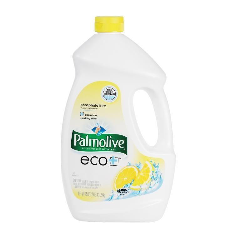 Palmolive 47805 dishwasher detergent gel lemon splash 45 oz