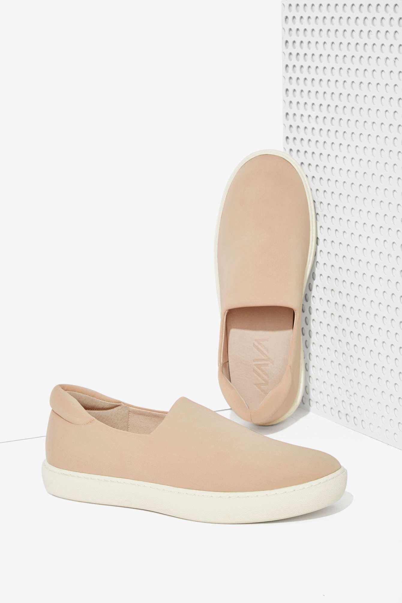 2031ce542668 Naya Juno Neoprene Slip-On Sneaker - Nude