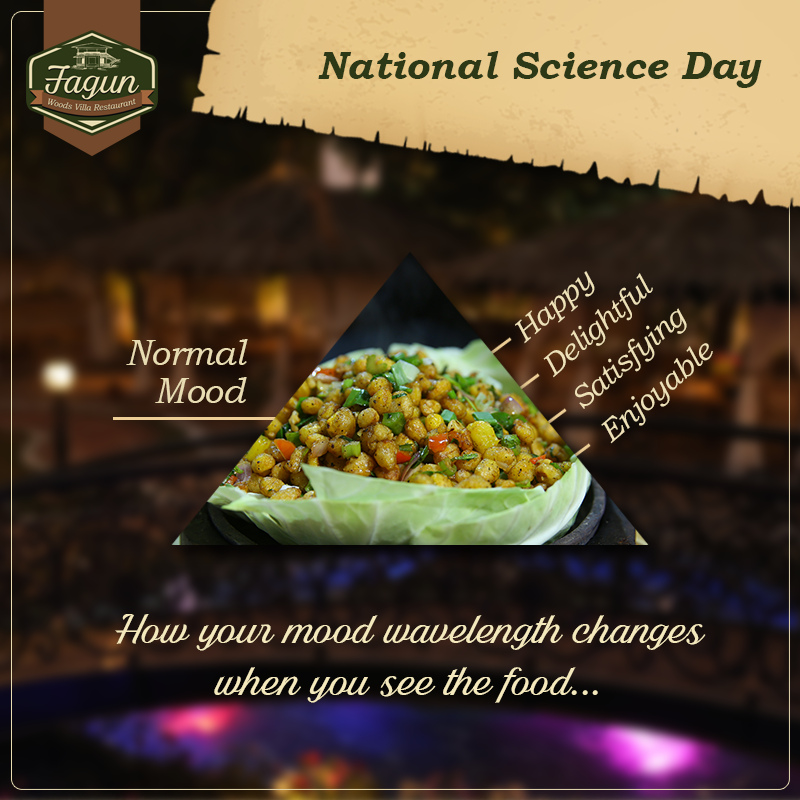 food science is the art of making people happy celebrate national science day at fagun
