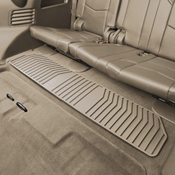 This Premium Allweather Rear Floor Mat Features A Deepribbed