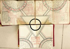 Gravity Falls Journals Replica - Portal pages by leoflynn