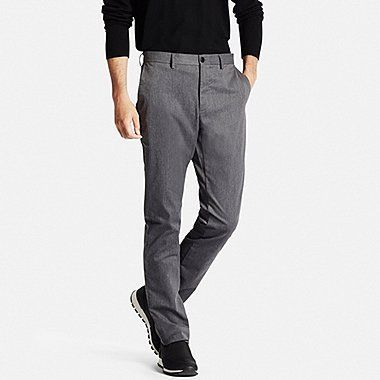 Men Slim Fit Chino Flat Front Pants Dark Gray Slimjeansformenpants