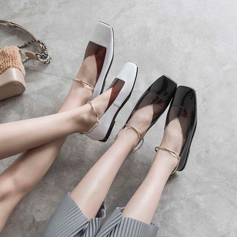 Chiko Edmanda Anklet PVC Flats   Womens