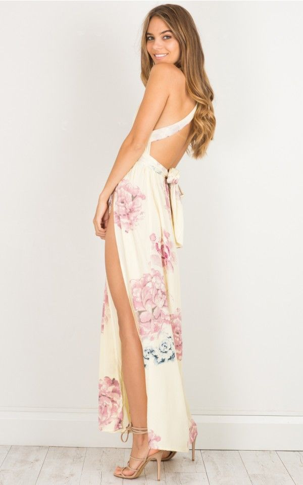 2a738110e9 Lost In The Wind maxi dress in pink floral | SHOWPO Fashion Online Shopping