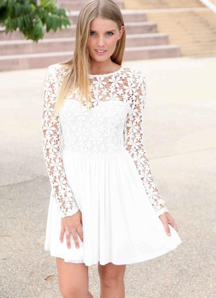 White Dresses for Promotion