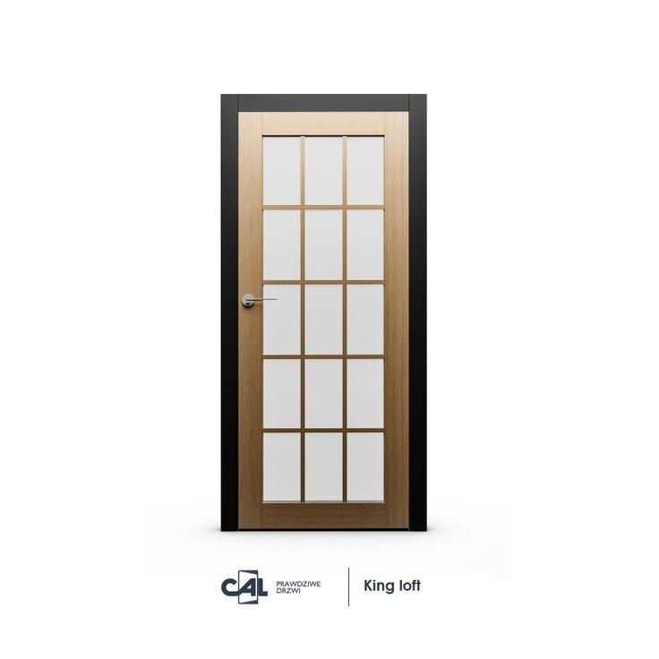 Drzwi wewnętrzne do loftu