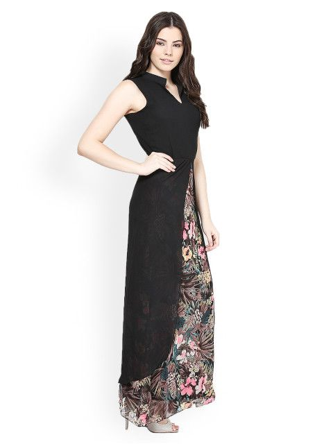 Buy Athena Black Maxi Dress