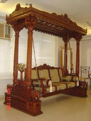 Oonjal Plank Teak Wood Oonjal Plank Supplier And Wholesaler From Chennai Balcony Decor Wooden Swings Exterior Decor