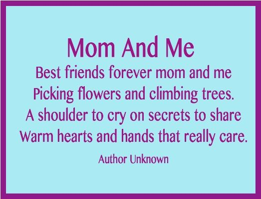 6 short mother s day poems poem bookmarks and craft for Short poems for daughters from mothers