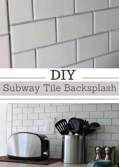 Cool Simply Beautiful by Angela DIY Subway Tile Backsplash the Big Reveal Photo - Beautiful Diy Tile Backsplash Review