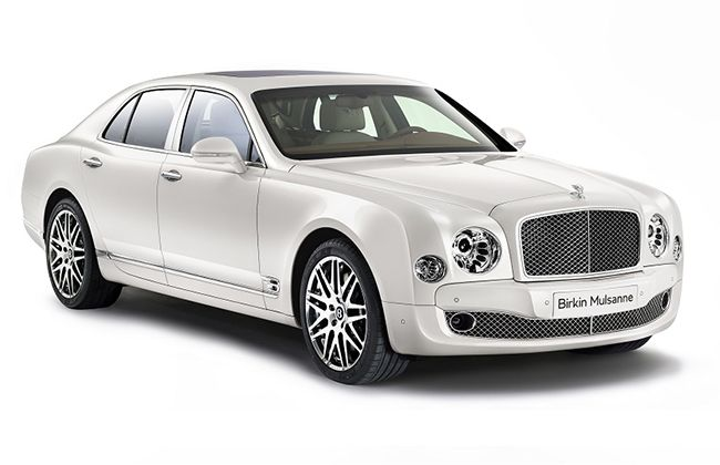 Bentley unveils limited edition 'BIRKIN MULSANNE' for European customers ! #BentleyCars #BentleyBirkinMulsanne