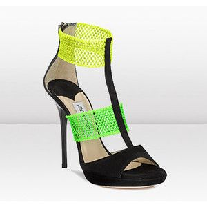 Represent your love for the Oregon Ducks in these Jimmy Choo heels!