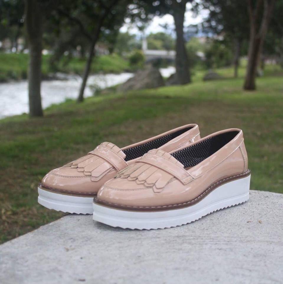 Mocasines con flecos para mujer Vittoria | Zapatos casual