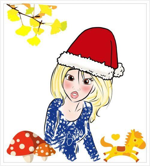 image via we heart it christmas drawing illustration sketching