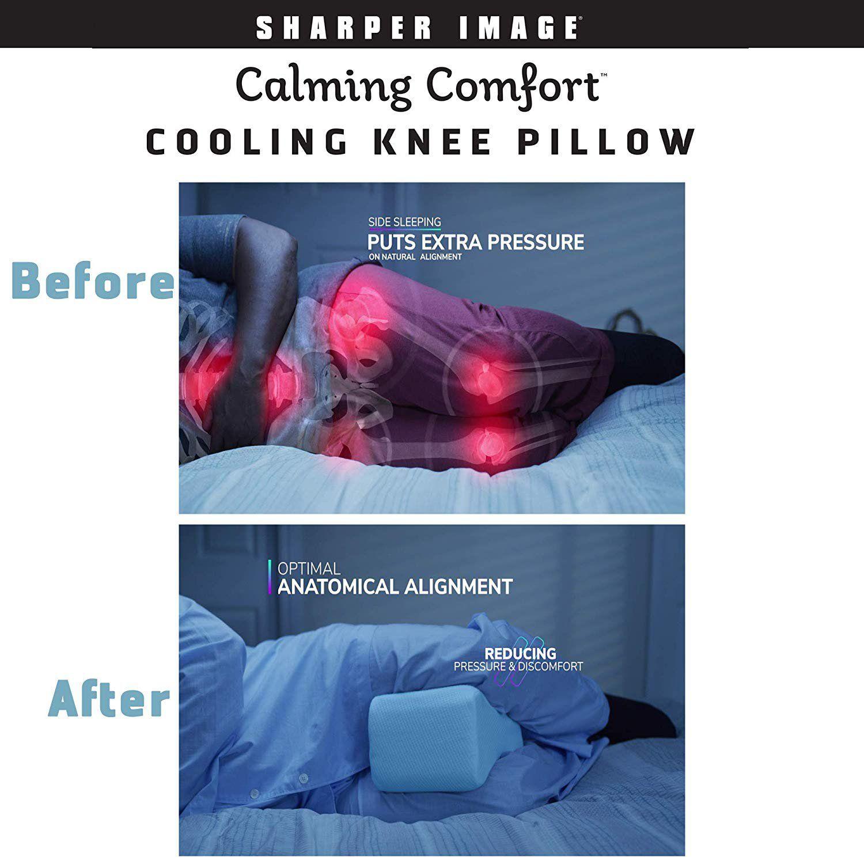 Calming Comfort Cooling Knee Pillow As Seen On Tv Walmart Com Knee Pillow See On Tv Calm