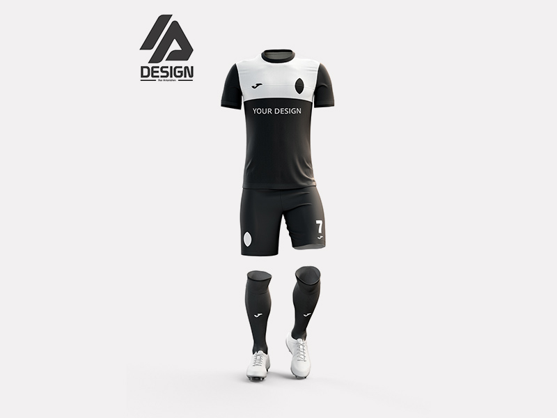 Download Free Football Kit Mockup In Psd Format Use This Stylish Football Mockup To Showcase Your Latest Designs In A Prof Free Football Football Kits Football Tshirts