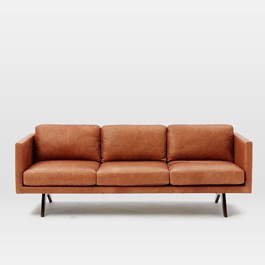 Brooklyn Leather Sofa In 2020 Leather Sofa Best Leather Sofa Furniture