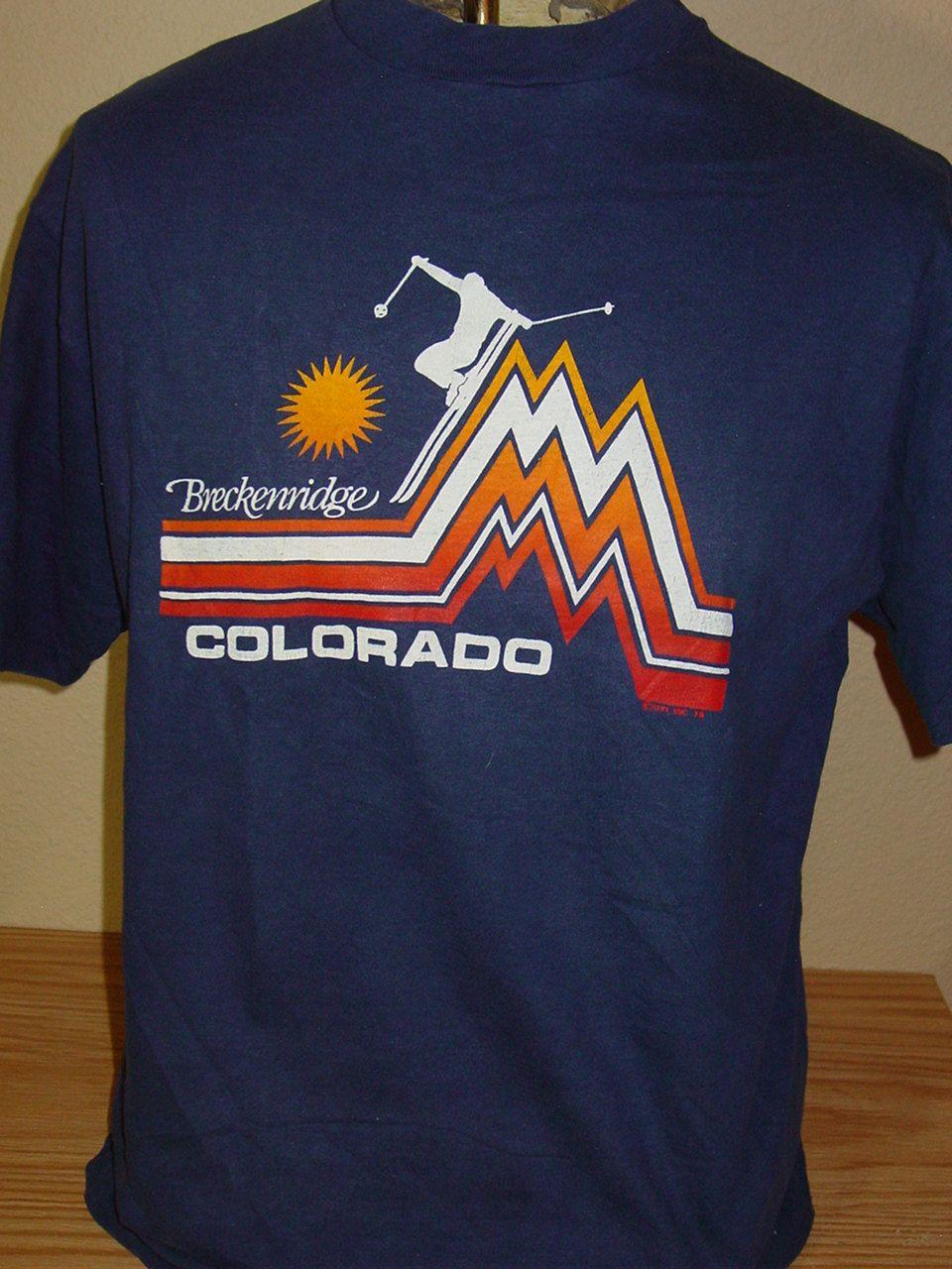 Vintage 1979 Colorado Snow Ski T Shirt Xl Tee Rific Shirts