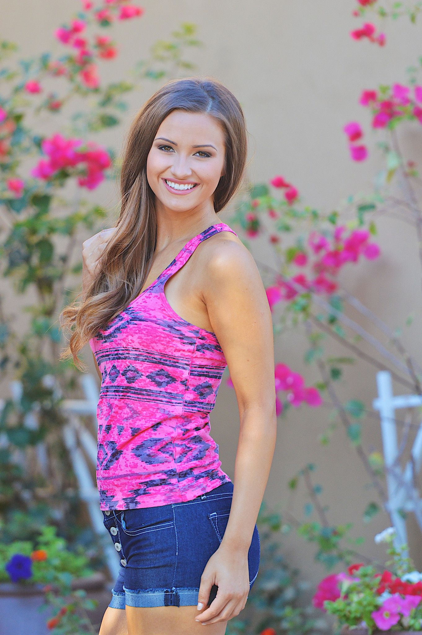 Somethin Bad Tank - Fuchsia from Closet Candy Boutique