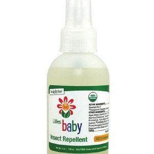 【 Lafe's 純自然有機嬰兒防蚊液】$295  有機認證多種天然植物精華,初生兒寶寶都適用,香氣能持續2-3小時能預防蚊蟲叮咬,本品不含香茅油,味道清新、不油膩。