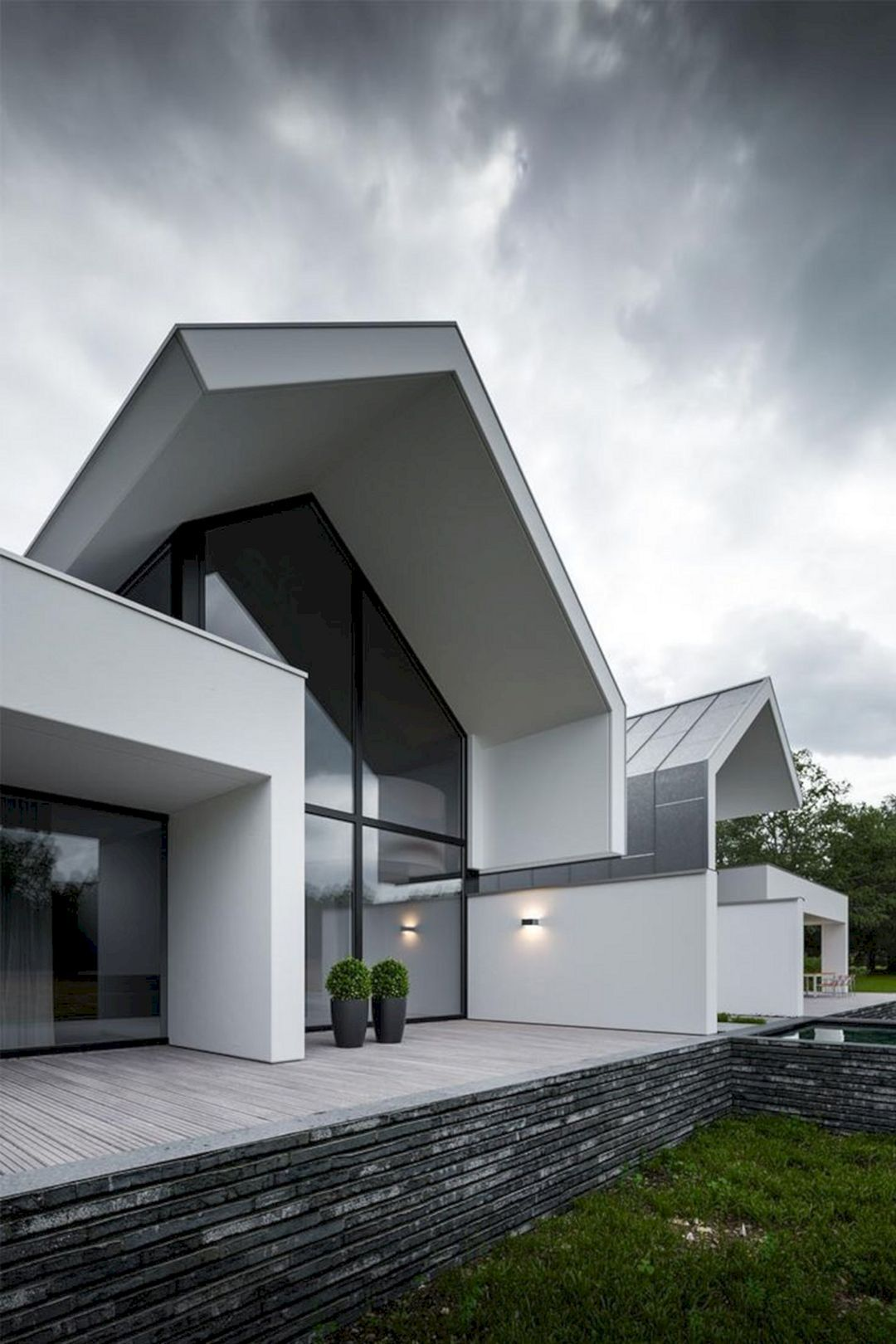 Awesome Top 20 Modern Home Architecture Ideas For Best Inspiration Https Freshouz Com Top 20 Mode Architecture House Architecture Design Modern House Design