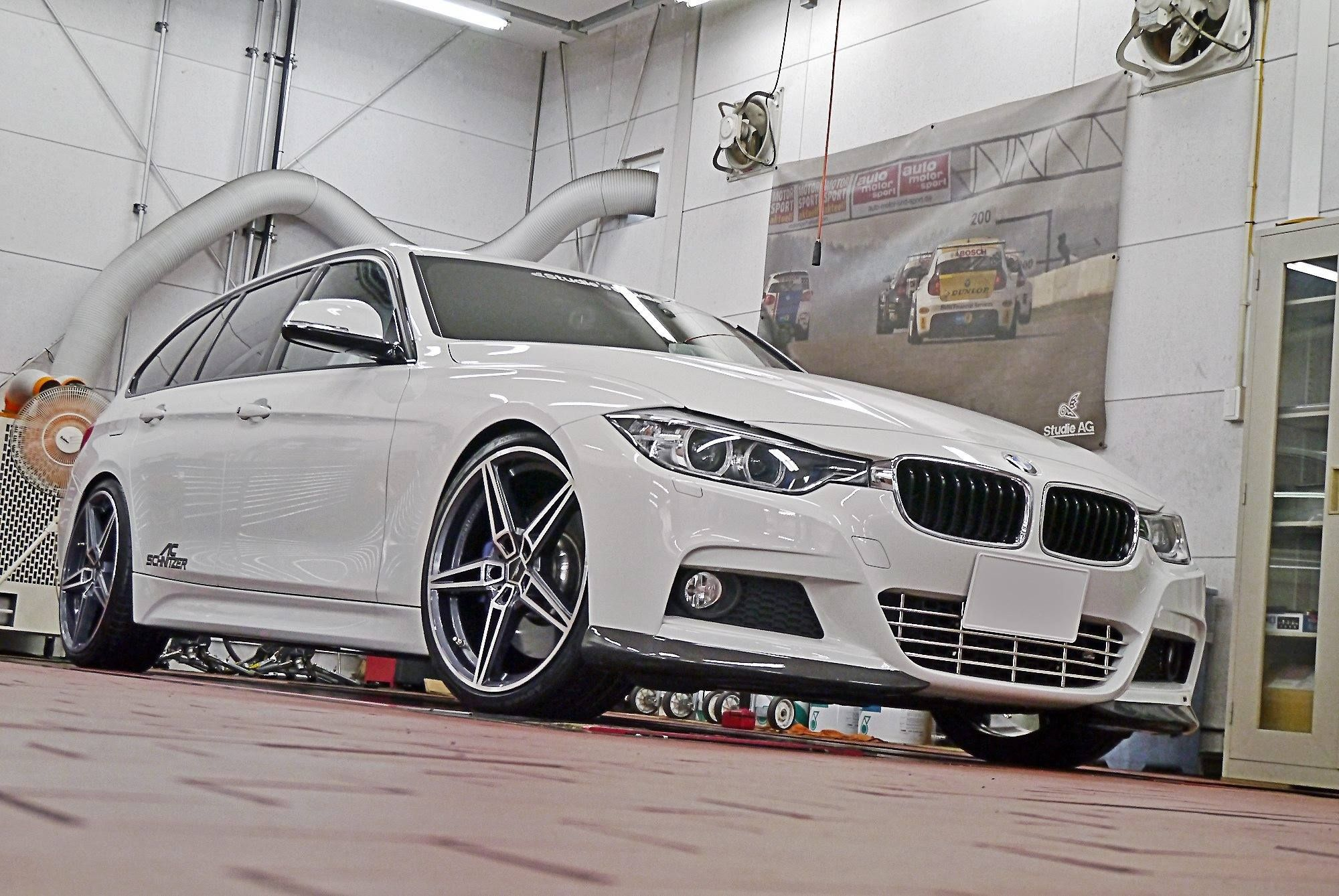 BMW F31 335i xDrive Touring MPackage AC Schnitzer White