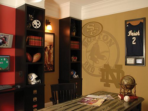 Delightful The Perfect Sports Office Decor For Your Sports Junky. MyTropolis Design  Specialized In Unique Home Office Design Ideas. Visit Our Online Gallery  For ...