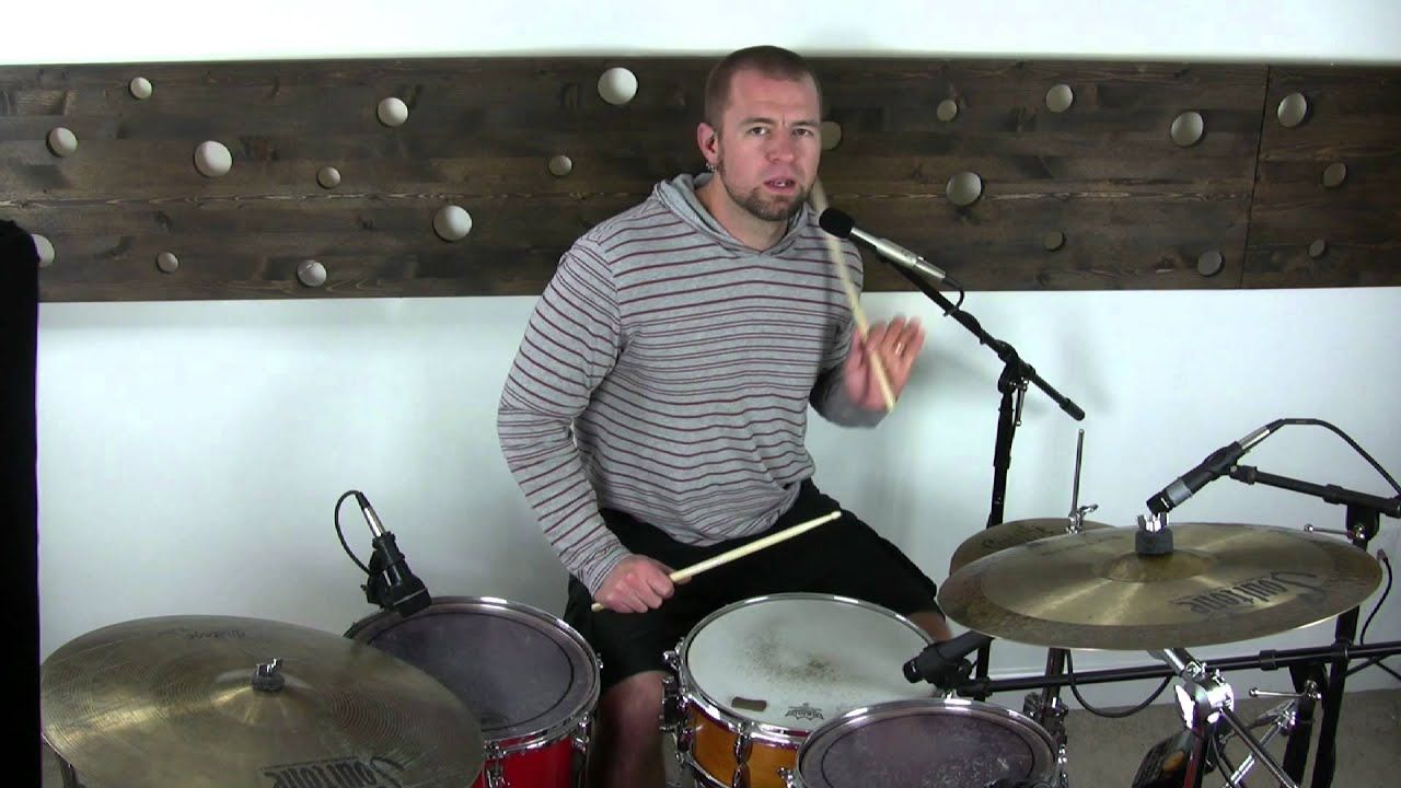 How to drum the purdie shuffle drums drum solo drum