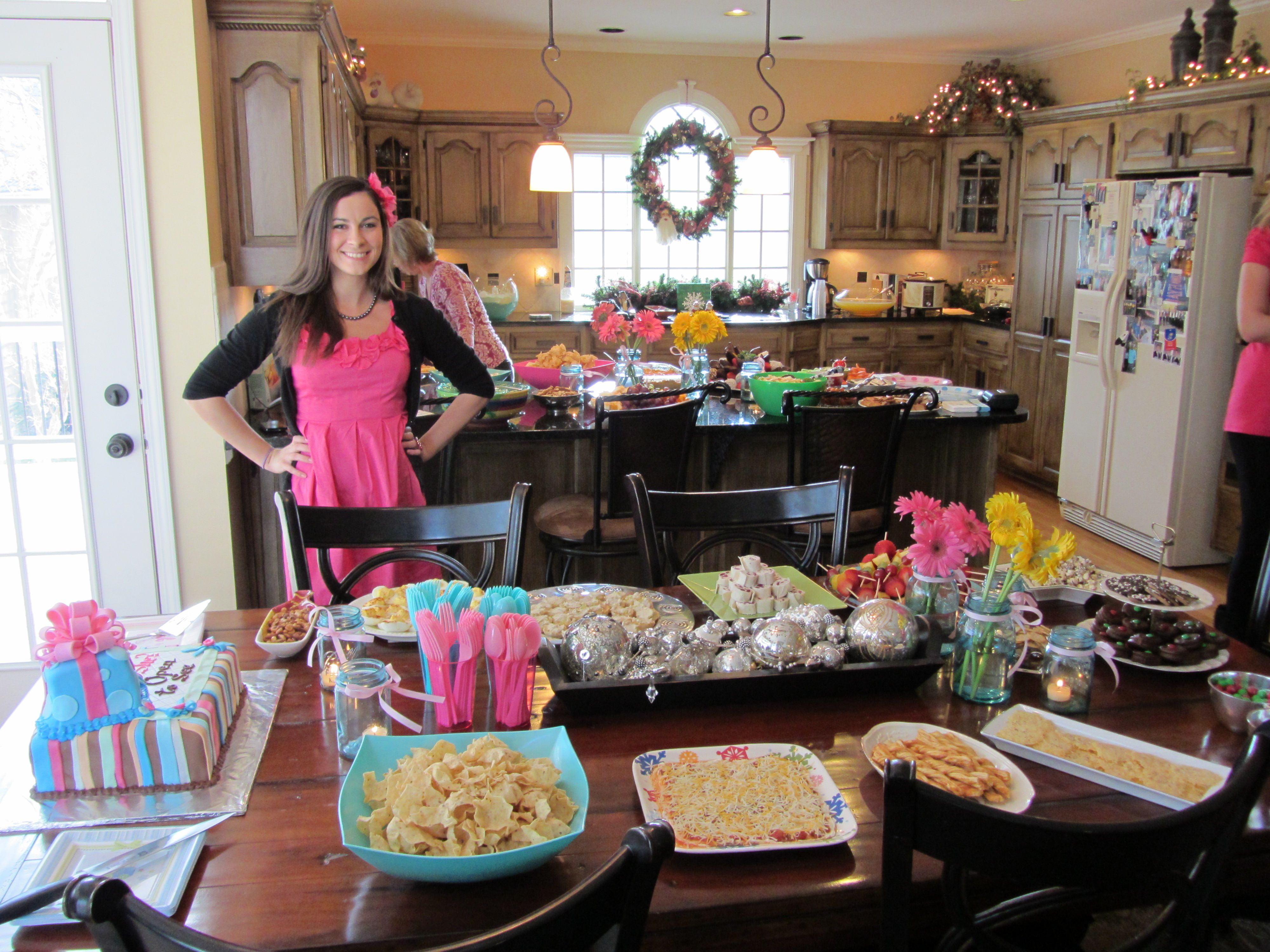 Gender Reveal Party Food and Baby Shower Drinks Ideas