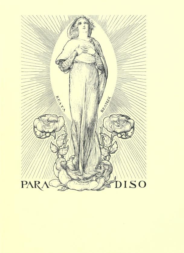 ad astra being selections from the divine comedy of dante 1902