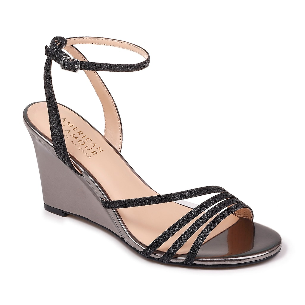 fde545bfeb60 American Glamour Party Women s Wedge Sandals