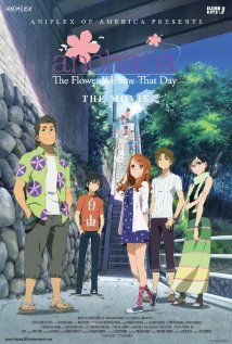 Anohana The Movie The Flower We Saw That Day Japan Directed By