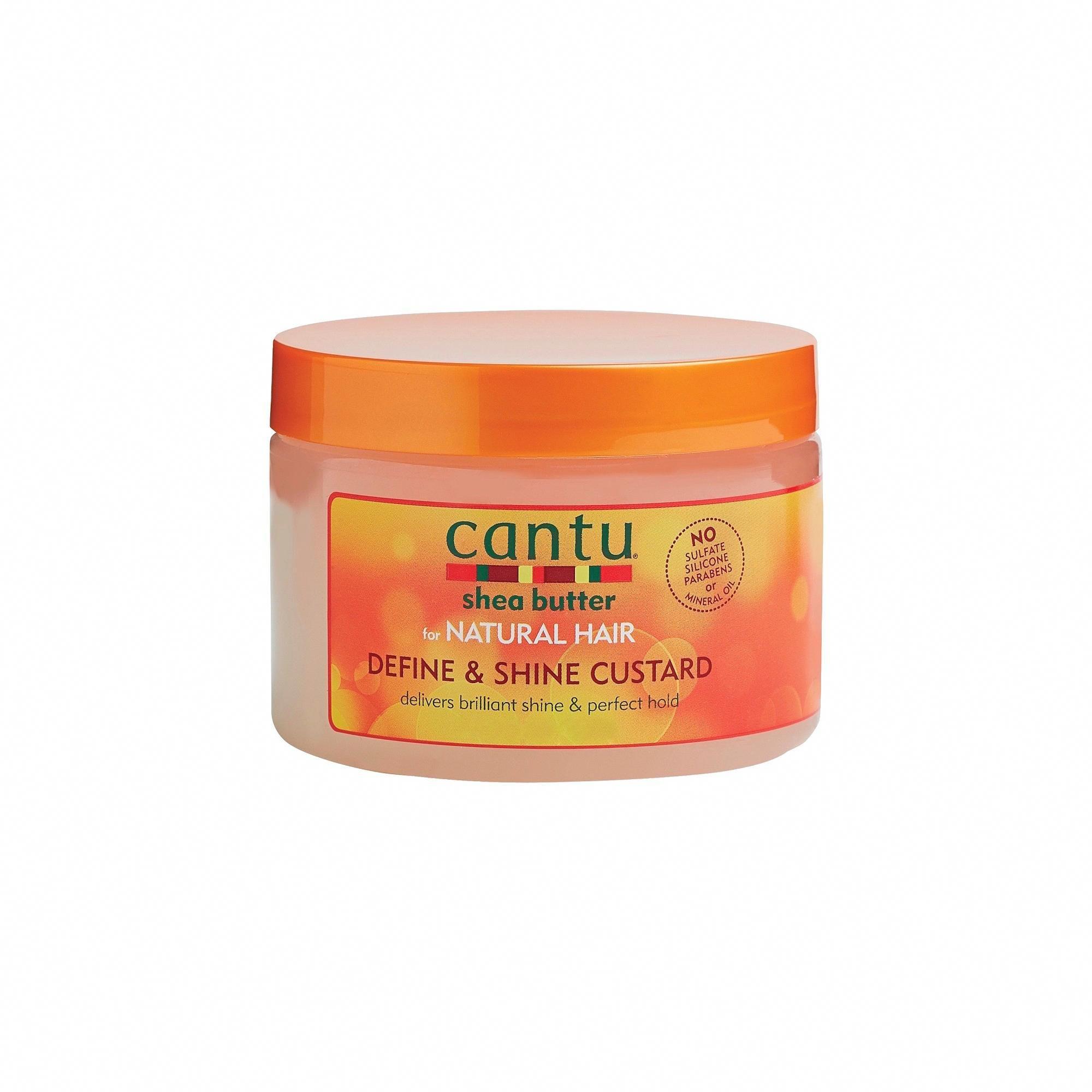 Cantu Shea Butter Define & Shine Custard 12 fl oz