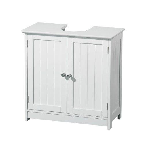 Premier Housewares Mueble para debajo del lavabo madera 2