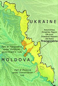 Transnistria Mapping with everyday life