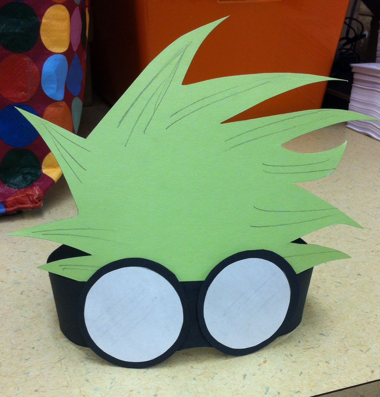 Crazy Scientist Hair And Goggles Headband Library Craft