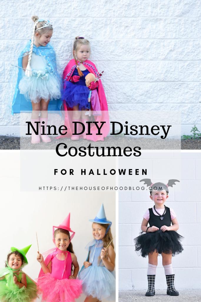 Nine Simple Diy Disney Costumes For