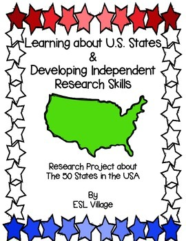 The  States In The Usa Research Project  States America